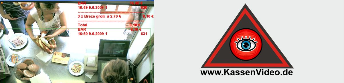 KassenVideo. Kontrollsysteme für Registrierkassen und Kassensysteme